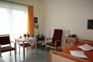 Bewohnerzimmer im Ev. Altenheim Lohmar